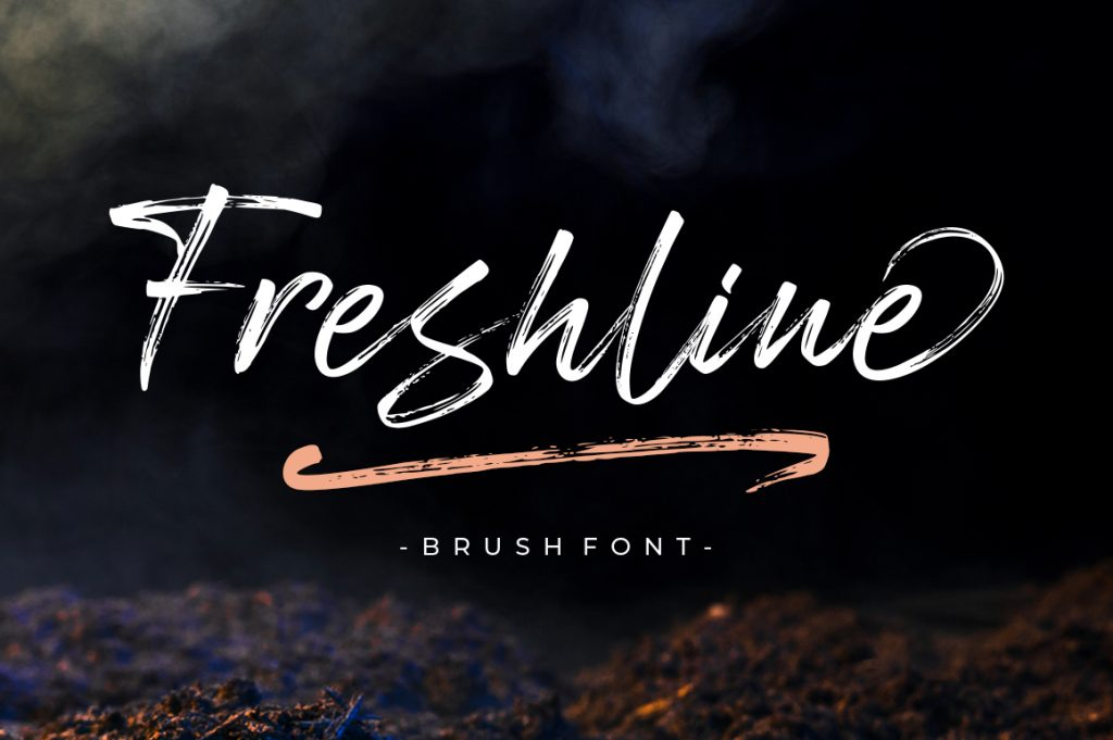 Freshline Font