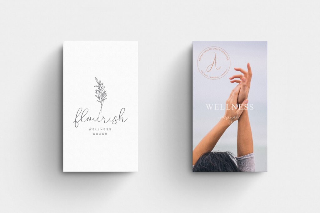 Business cards logo examples